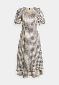 YAS - YASSTORIA LONG DRESS - Maxiklänning - eggnog - 4