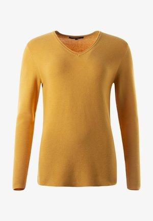 HOLLY - Sweatshirt - goldgelb