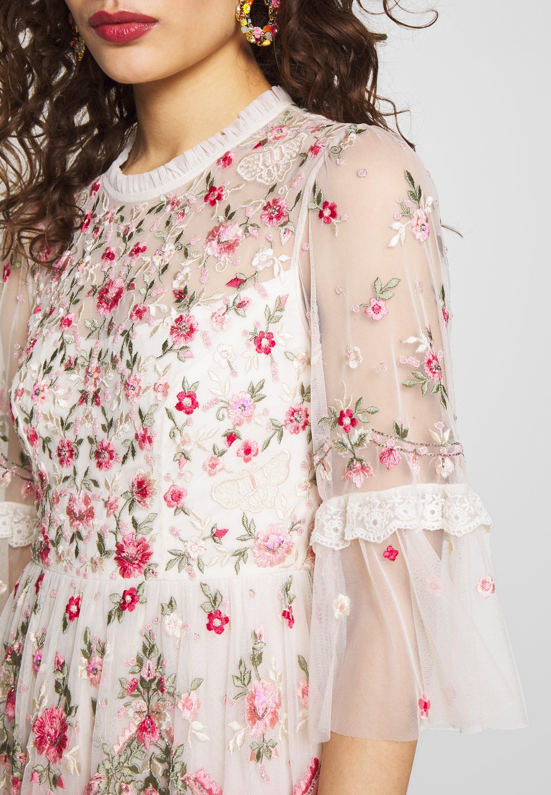 Needle & Thread BUTTERFLY MEADOW DRESS - Robe de soirée - white