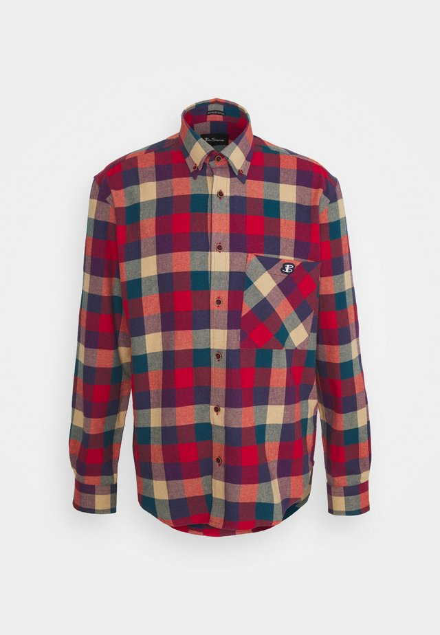 RECYCLED CHECK SHIRT - Camicia - mango