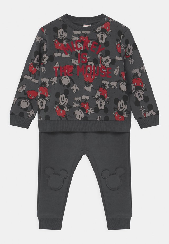 MICHEY SET - Tracksuit - blackened pearl