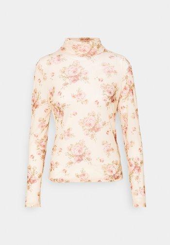 ONLCINDY - Long sleeved top - beige