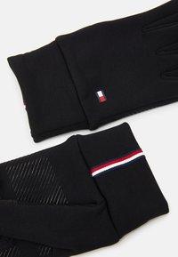 Tommy Hilfiger - MENS TOUCH GLOVES - Gloves - black - 2