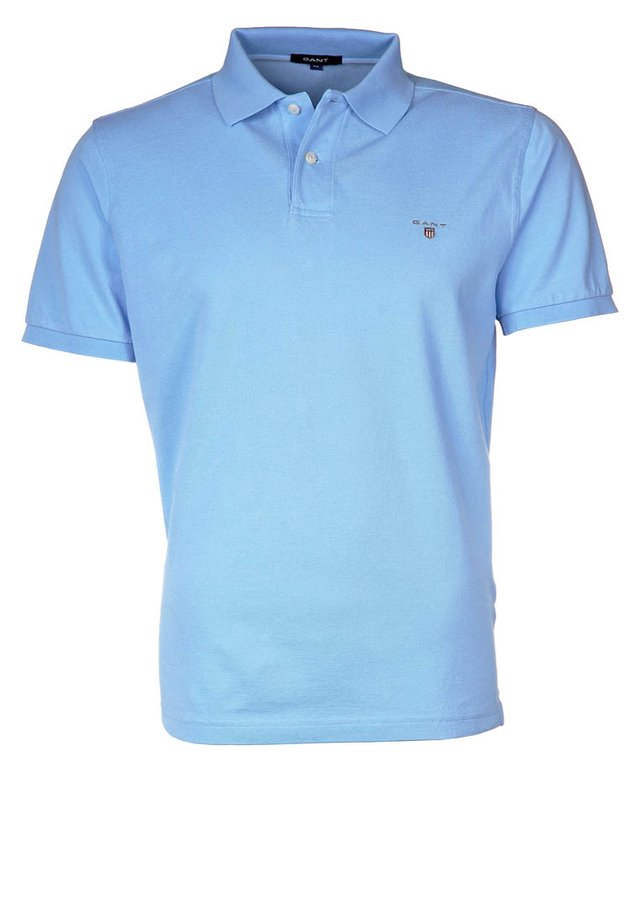 THE ORIGINAL RUGGER - Polo - capri blue