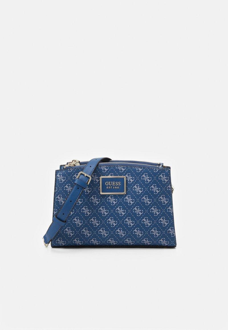 Guess - TYREN STATUS - Across body bag - blue