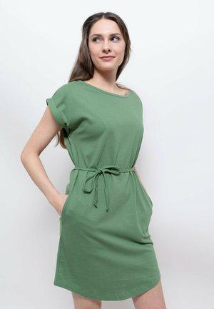 Jersey dress - jungle green