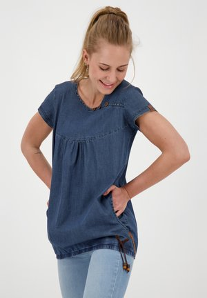Blouse - dark denim