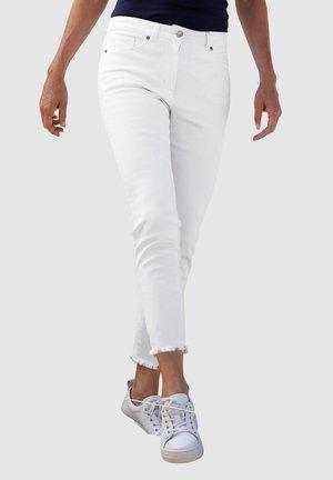 Slim fit jeans - weiß