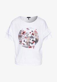 IKKS - Print T-shirt - blanc cassé - 0