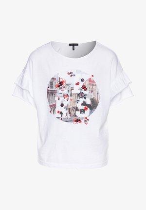 T-shirt z nadrukiem - blanc cassé