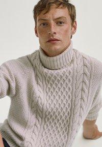 Massimo Dutti - Sweter - grey - 3
