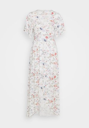 LONG WRAP DRESS - Długa sukienka - multi-coloured
