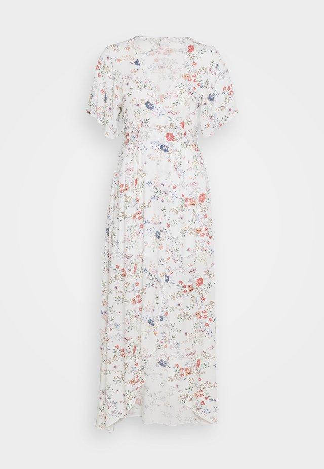 LONG WRAP DRESS - Robe longue - multi-coloured