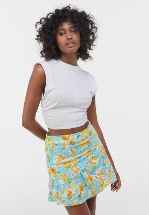 Spódnica mini - turquoise