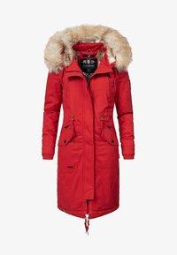 Navahoo - Winter coat - red - 0