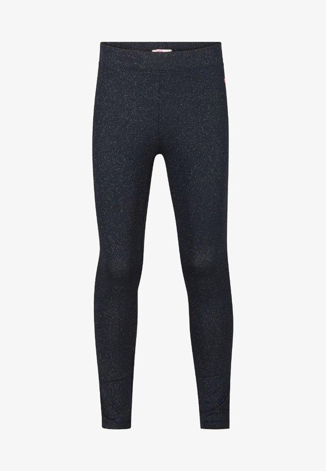 GLITTER - Leggings - dark blue