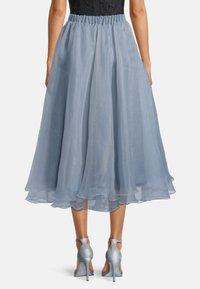 Vera Mont - A-line skirt - blue dove - 2