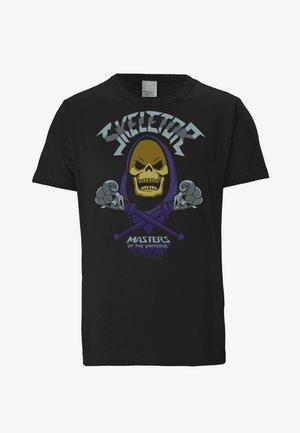SKELETOR - Print T-shirt - schwarz