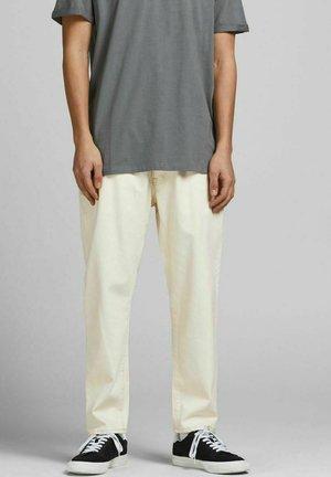 FRANK  - Straight leg jeans - ecru