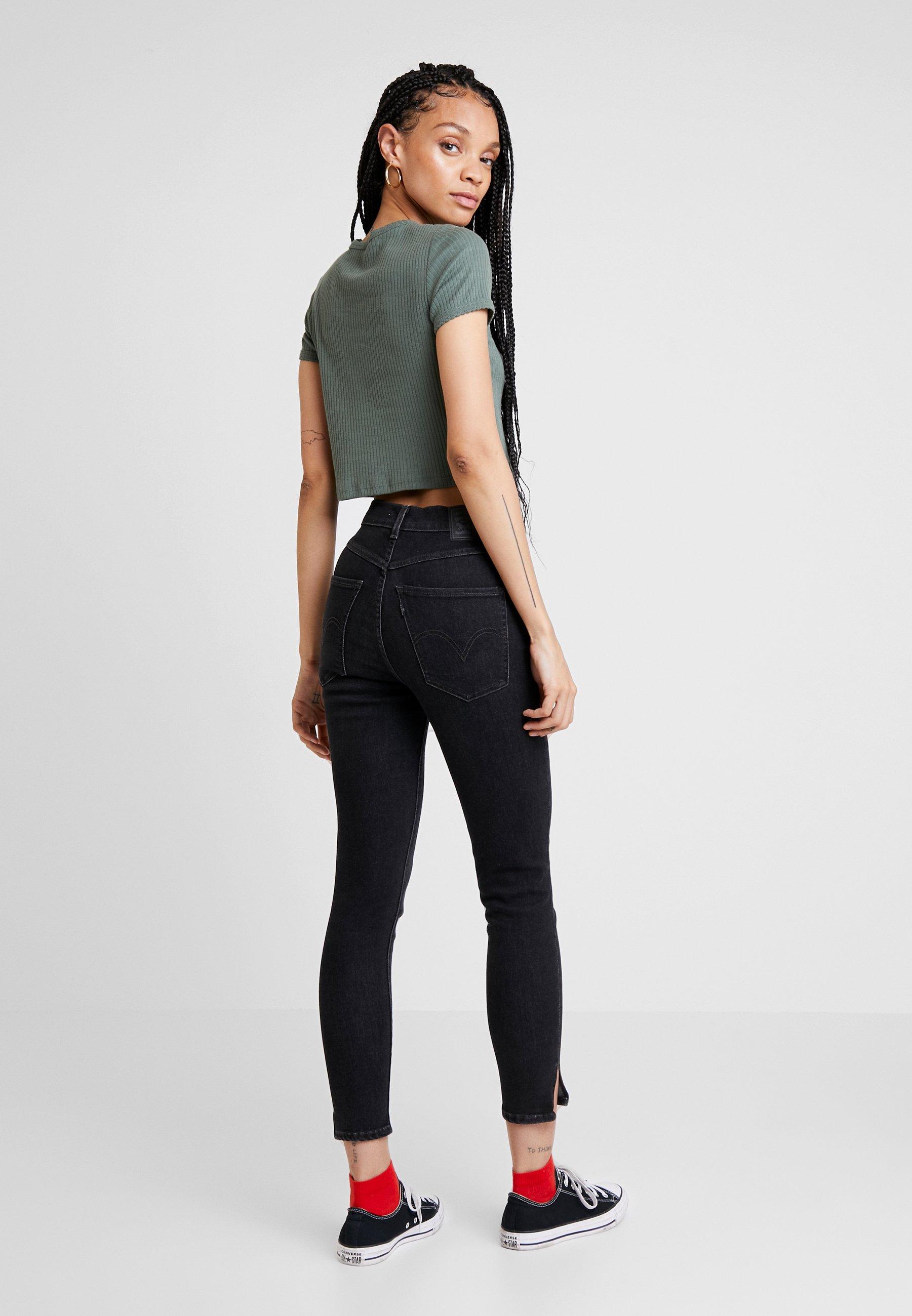 Levi's® MILE HIGH ANKLE YOKE - Jeans Skinny - great wide open - Jeans Femme DO2xY
