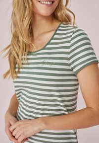 Lieblingsstück - Print T-shirt - grün - 1