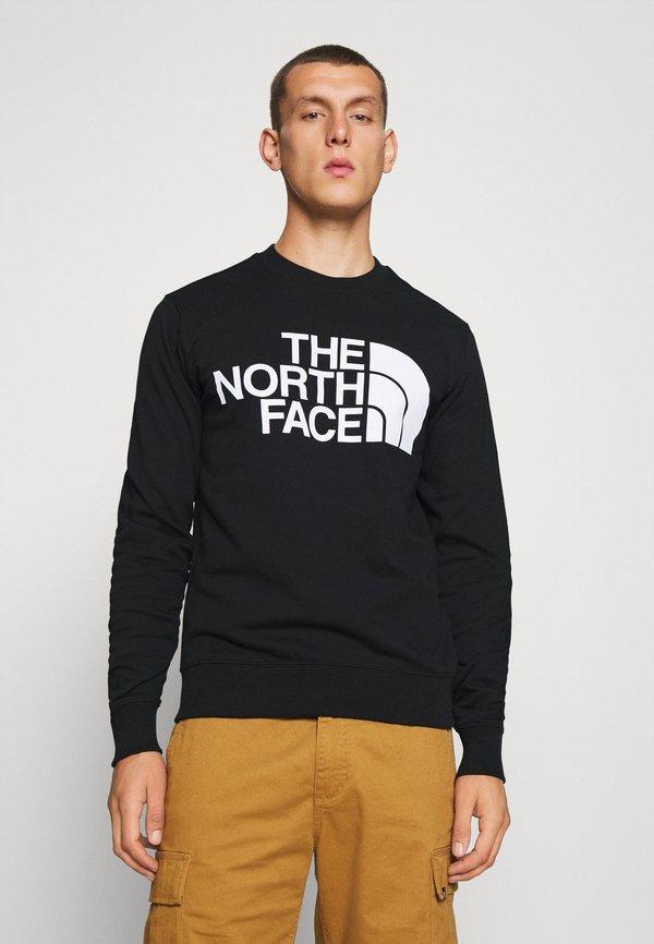 The North Face STANDARD CREW - Bluza - black/czarny Odzież Męska WZOS