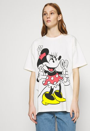 DISNEY MICKEY AND FRIENDS - Print T-shirt - marshmallow