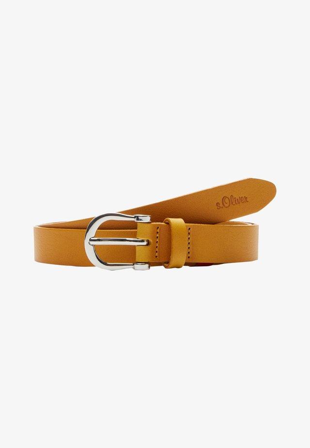 Belt - yellow