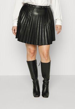 LADIES SKIRT - Mini skirt - black