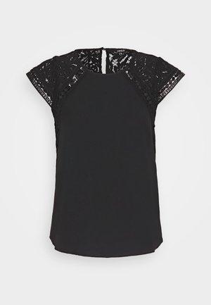 ONLFELICIA CAPSLEEVE - Blouse - black