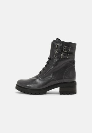 PERRY - Lace-up ankle boots - grey