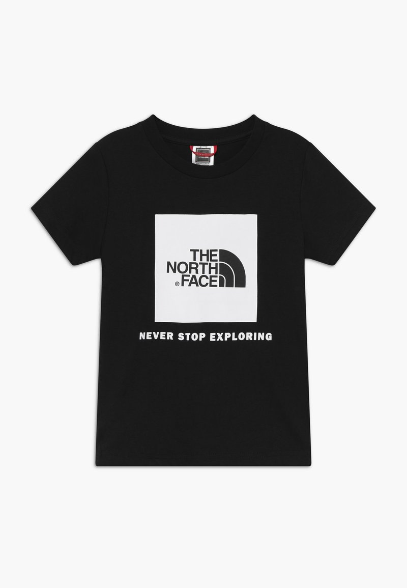 The North Face - BOX TEE UNISEX - Triko s potiskem - black/white