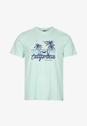 CALIFORNIA BEACH - T-shirt med print - bluelight