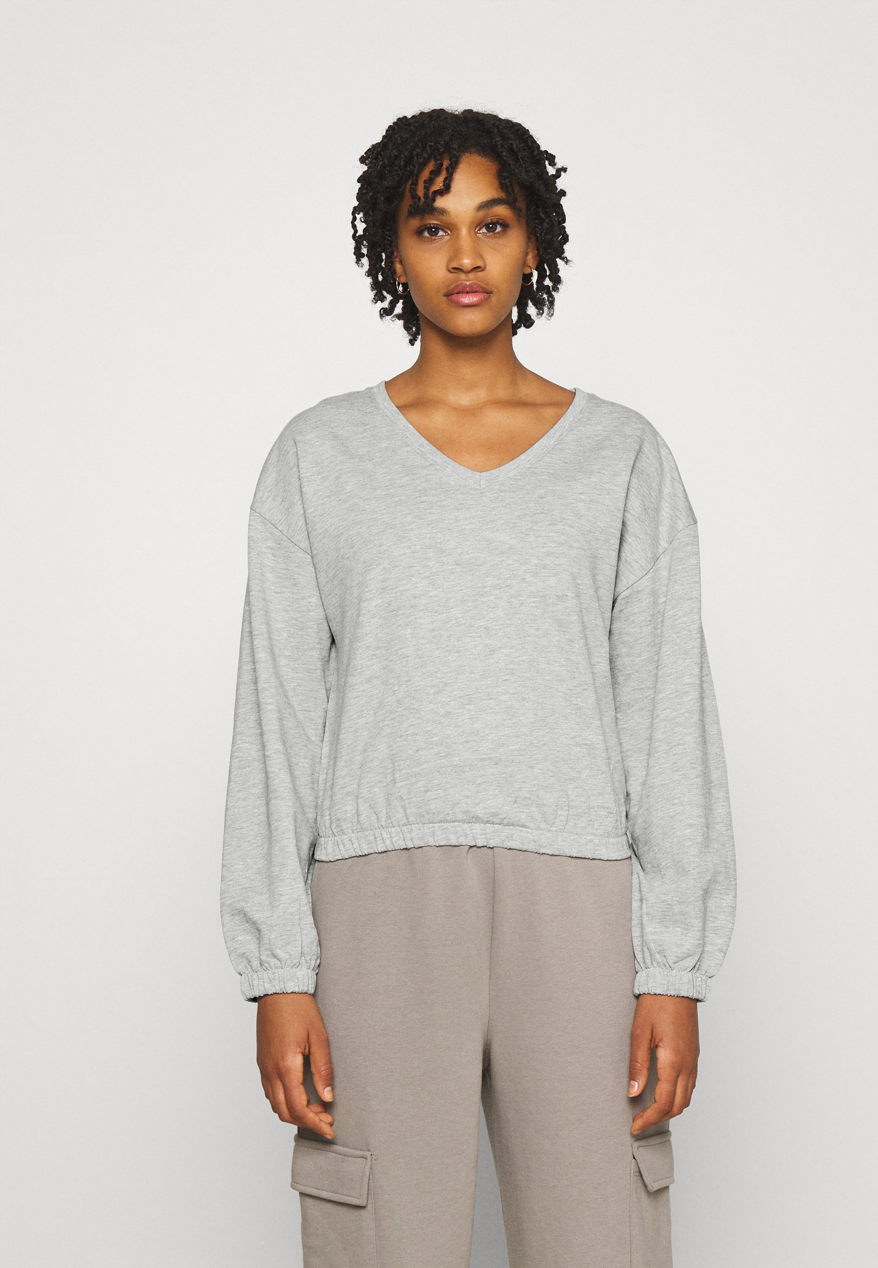 Women ONLBRIA LIFE VNECK - Sweatshirt