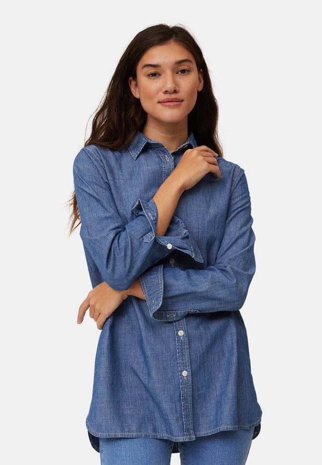 ISA  - Camicia - lt blue denim