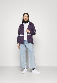 Nike Sportswear - Summer jacket - dark raisin/white - 1
