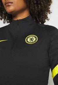 Nike Performance - CHELSEA LONDON  - Club wear - black/opti yellow - 4