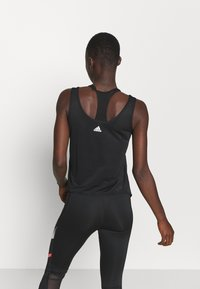 adidas Performance - COMMUTER TANK - Funktionsshirt - black/white - 2