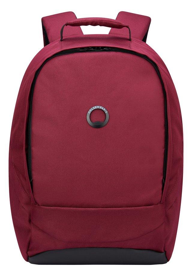 SECURBAN RUCKSACK RFID 40 CM LAPTOPFACH - Rucksack - burgundy red