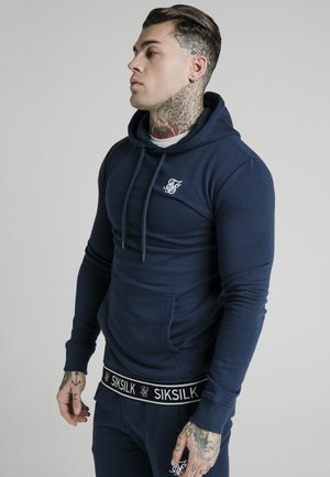 OVERHEAD TAPE HOODIE - Sweat à capuche - navy