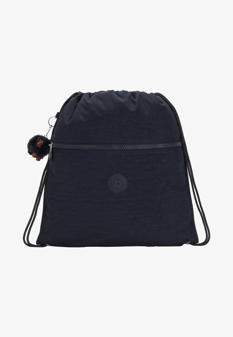 Kipling - SUPERTABOO - Drawstring sports bag - true blue tonal