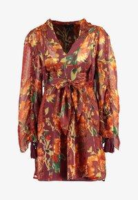 Topshop - AUTUMN FLORAL TASSEL TIE - Day dress - multi - 5