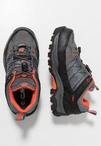 CMP - KIDS RIGEL LOW SHOE WP - Hiking shoes - stone/orange - 0