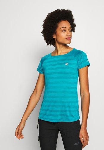 DEFY TEE - T-shirts basic - fresh water blue