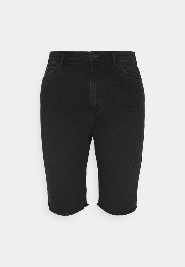 VMLOA FAITH - Denim shorts - black