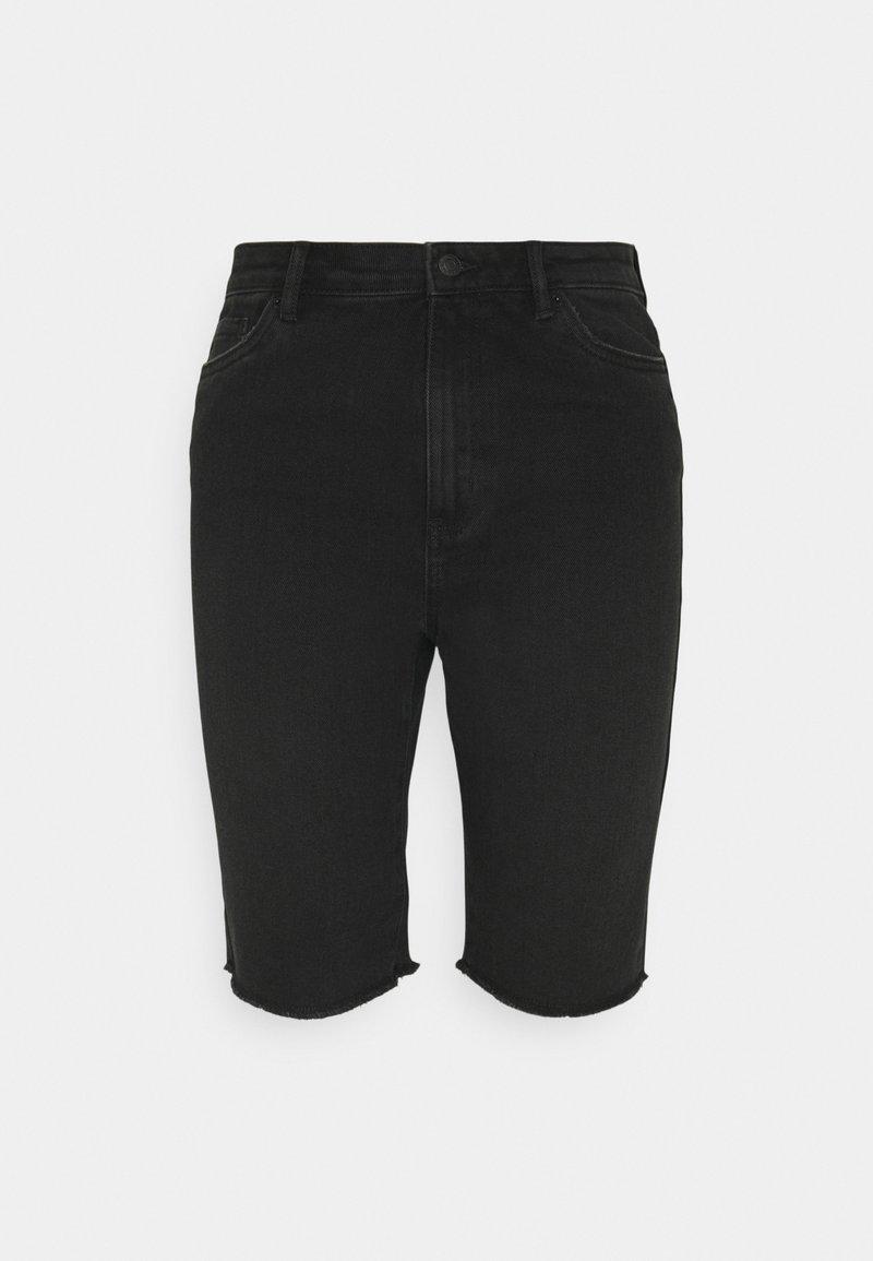 Vero Moda Petite - VMLOA FAITH - Shorts di jeans - black