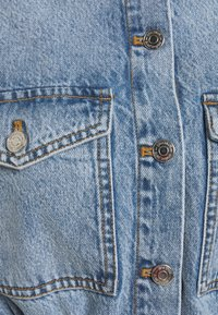 Gina Tricot - LONG SLEEVE DRESS - Denim dress - blue - 2