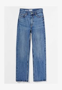 Bershka - Straight leg jeans - dark blue - 4