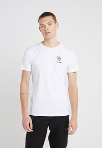 Plein Sport - ROUND NECK ORIGINAL - T-paita - white - 0
