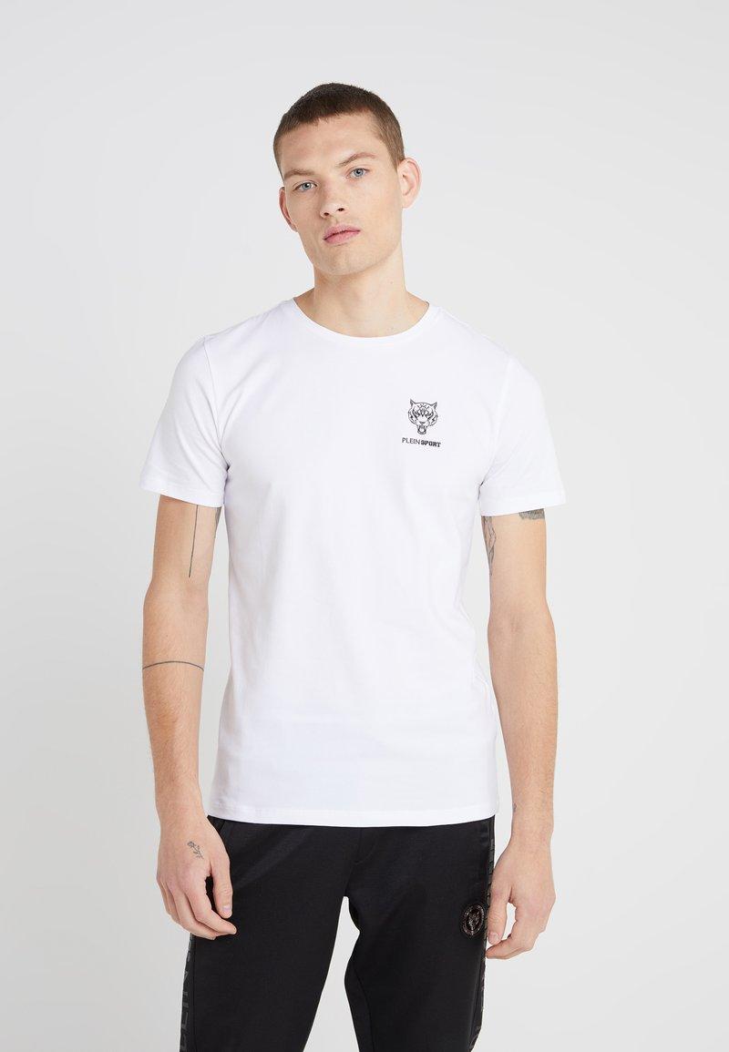 Plein Sport - ROUND NECK ORIGINAL - T-paita - white